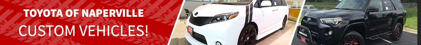 Custom Vehicles At Toyota of Naperville