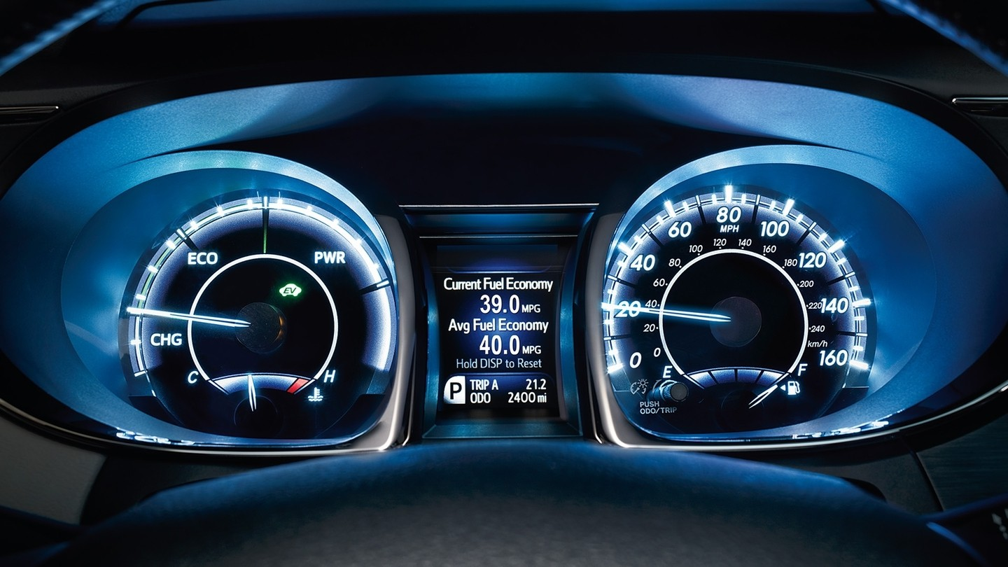 2018 Toyota Avalon gauges