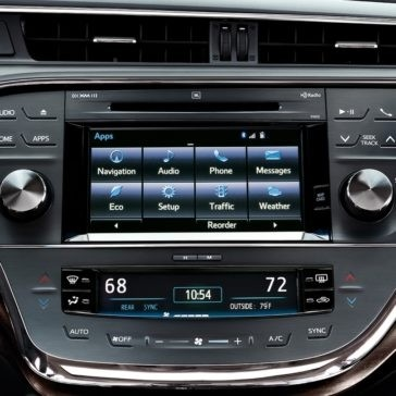 2018 Toyota Avalon infotainment
