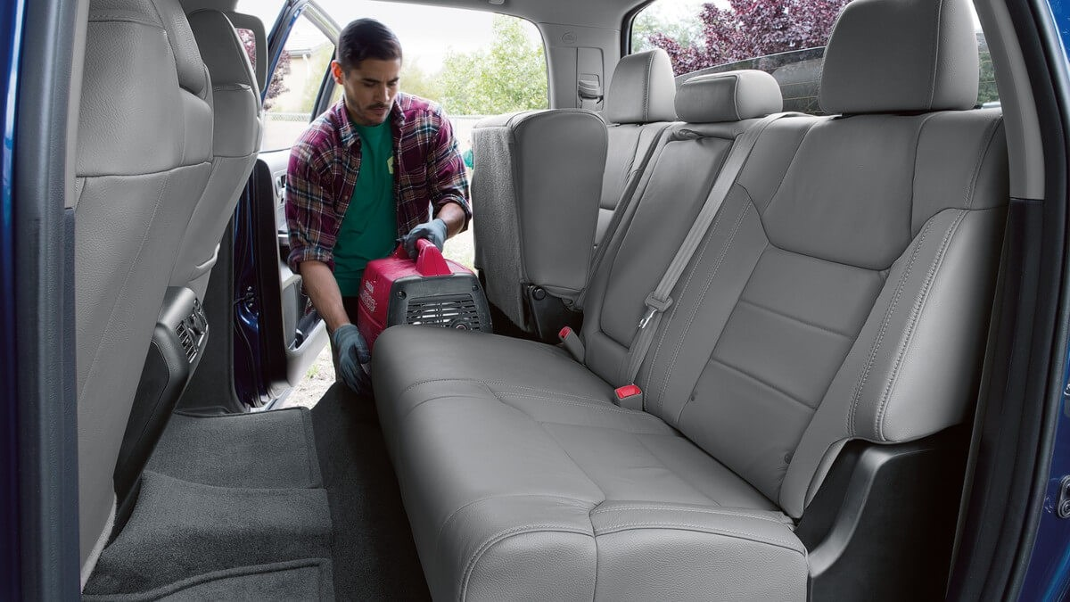 2018 Toyota Tundra Limited CrewMax Interior