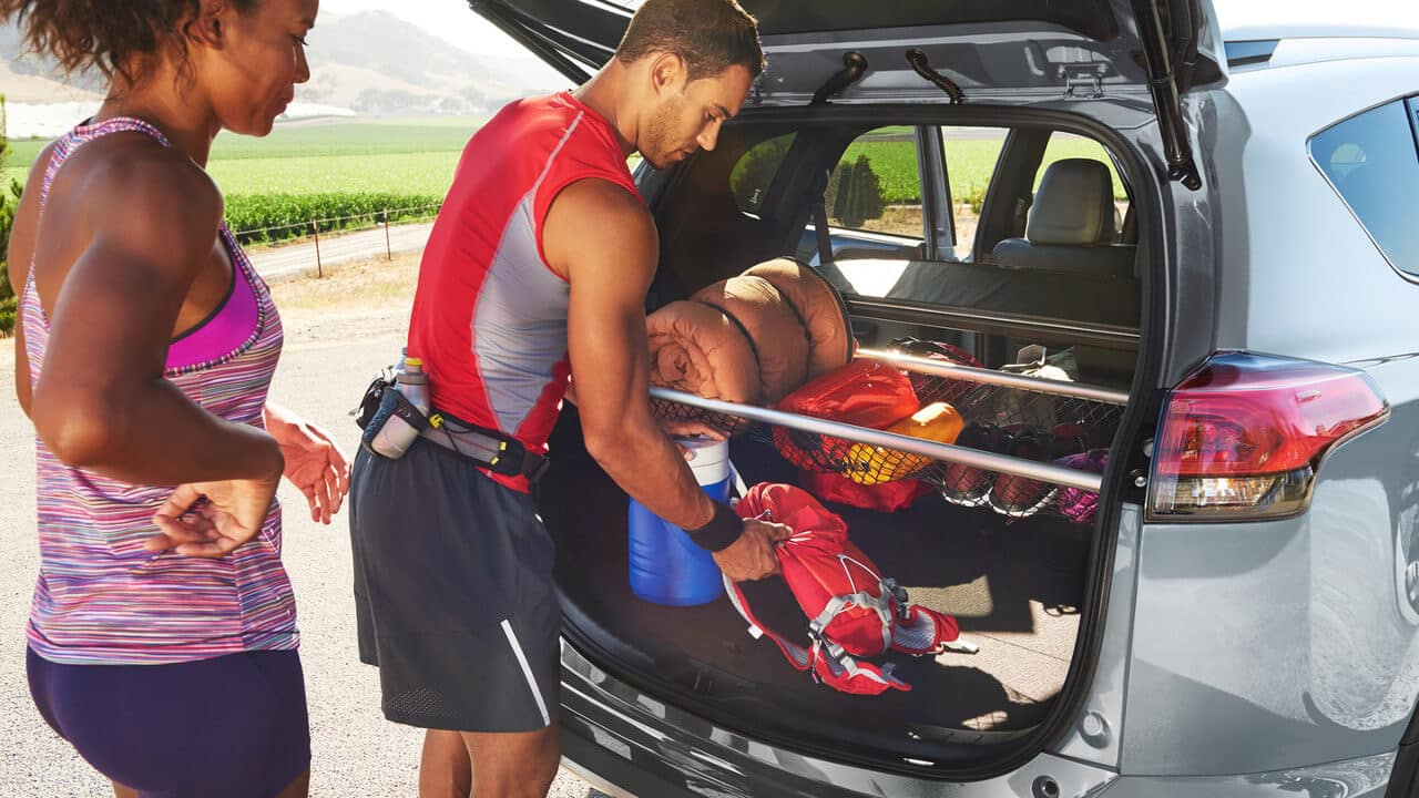 Cargo Space of 2018 Toyota RAV4