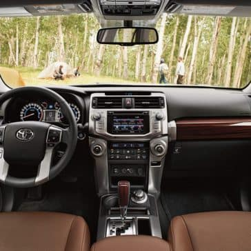 2018 Toyota 4Runner Dash