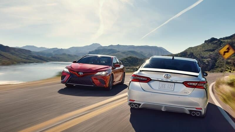 2018 Toyota Camry rear view