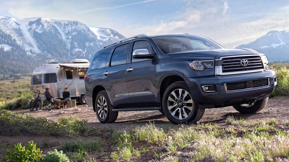 2018 Toyota Sequoia Parked