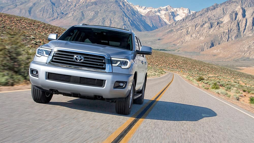 2018 Toyota Sequoia Driving