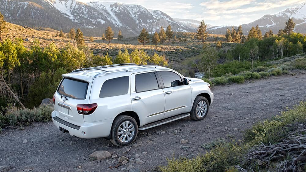 2018 Toyota Sequoia Moutains