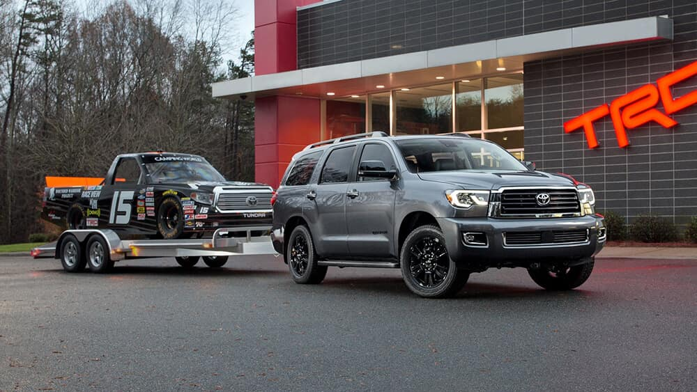 2018 Toyota Sequoia Towing