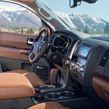 2018 Toyota Sequoia Cabin