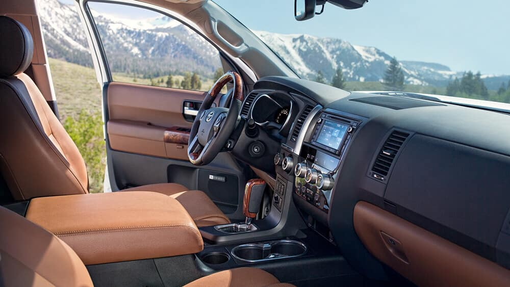 2018 Toyota Sequoia Interior Gallery 5 Toyota Of Naperville