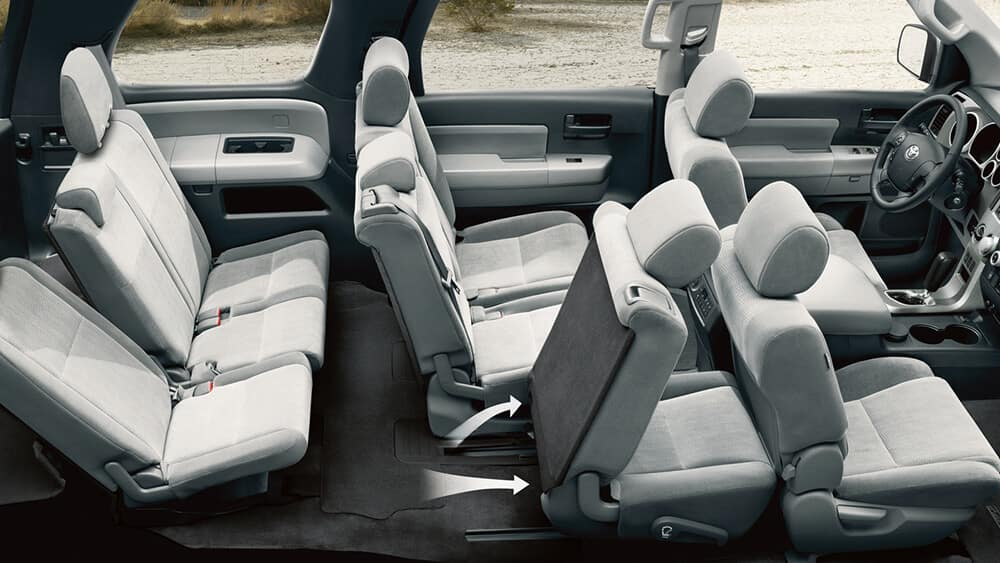 2018 Toyota Sequoia Seats