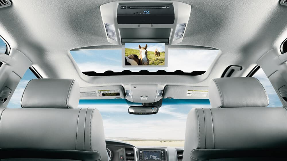 2018 Toyota Sequoia Screen