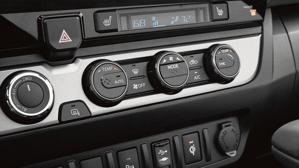 2018 Toyota Tacoma Interior Controls Toyota Of Naperville