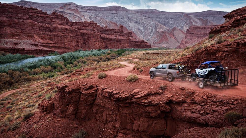 2018 Toyota Tacoma Offroading Trailer