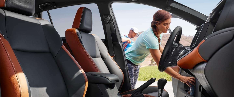 2018 Toyota RAV4 interior features
