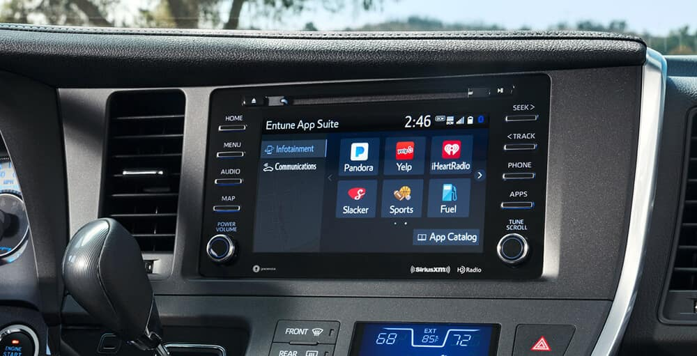 2018 Toyota Sienna Touchscreen