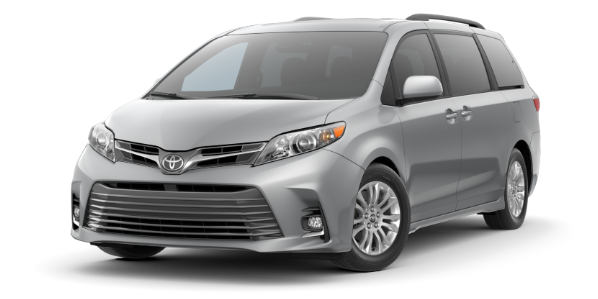 2018 Toyota Sienna XLE Compare