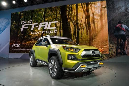 Toyota FTAC Reveal