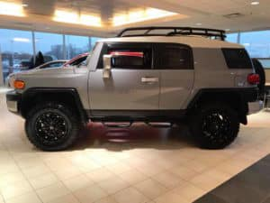 2014 Gray Cruiser Custom Toyota of Naperville side