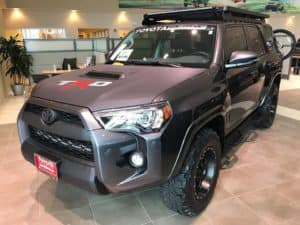 2017 4Runner Custom Toyota of Naperville Front