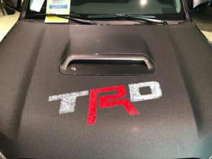 2017 4Runner Custom Toyota of Naperville hood