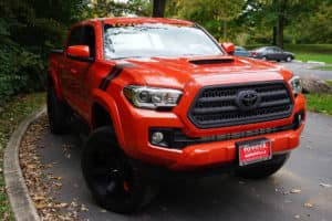 2017 Toyota Tacoma Custom Toyota of Naperville Front