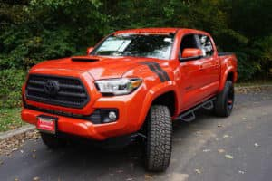 2017 Toyota Tacoma Custom Toyota of Naperville front side