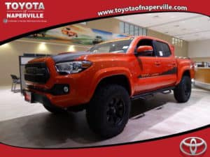 2017 Toyota Tacoma TRD Sport 4D Double Cab Custom Toyota of Naperville
