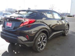 2018 Toyota C-HR XLE Premium 4D Sport Utility Back