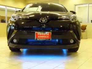2018 Toyota C-HR XLE Premium 4D Sport Utility Blue Light