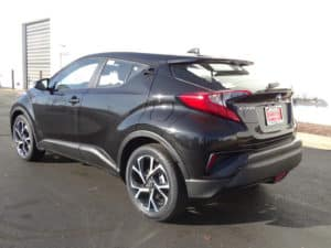 2018 Toyota C-HR XLE Premium 4D Sport Utility Side 2