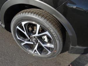 2018 Toyota C-HR XLE Premium 4D Sport Utility Tire View