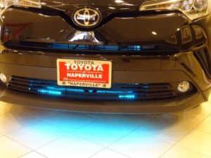 2018 Toyota C-HR XLE Premium 4D Sport Utility light blue