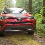 2018 Toyota RAV4 Adventure in forest