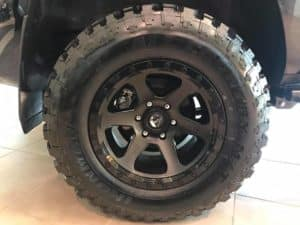 Blacked Out 4Runner Custom Toyota of Naperville Tire