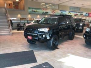 Blacked Out 4Runner Custom Toyota of Naperville dealership