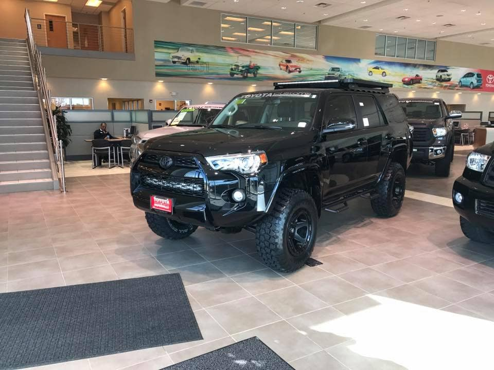 Blacked Out 4runner Custom Toyota Of Naperville Dealership Toyota