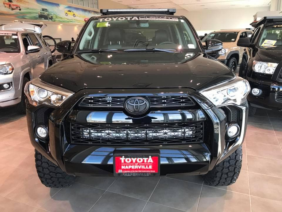 Blacked Out 4runner Custom Toyota Of Naperville Grill Toyota Of