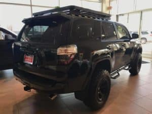 Blacked Out 4Runner Custom Toyota of Naperville rear