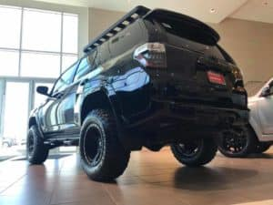 Blacked Out 4Runner Custom Toyota of Naperville rear side