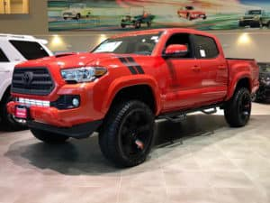 Red Tacoma Toyota of Naperville Custom