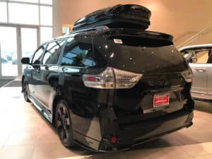 Swagger Wagon Toyota of Naperville Custom Toyota of Naperville rear side