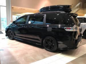 Swagger Wagon Toyota of Naperville Custom Toyota of Naperville side