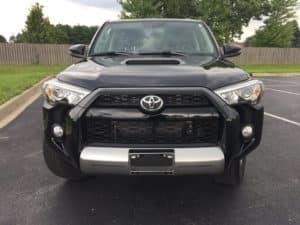 Toyota 4Runner Black Before