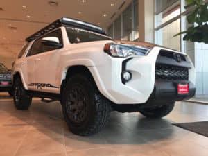 Toyota 4Runner Custom Toyota of Naperville Side Front