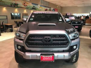 Toyota Custom Truck Toyota of Naperville front
