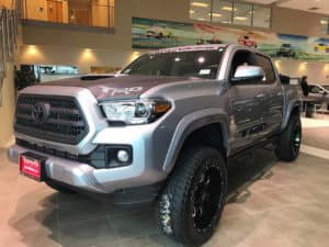 Toyota Custom Truck Toyota of Naperville front side