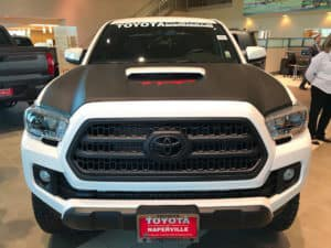 Toyota Tacoma Black and White Toyota of Naperville front
