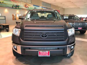 Toyota Tundra Custom Toyota of Naperville front