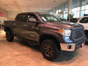 Toyota Tundra Custom Toyota of Naperville front side 2
