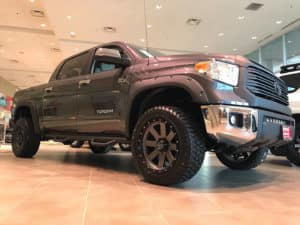 Toyota Tundra Custom Toyota of Naperville front side